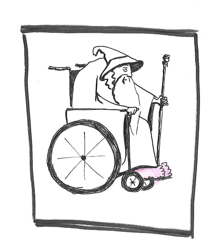 gandalf-in-a-wheelchair