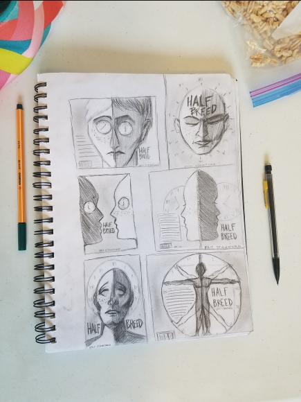 Book Cover Sketches