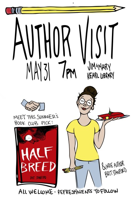 Author Visit Poster1